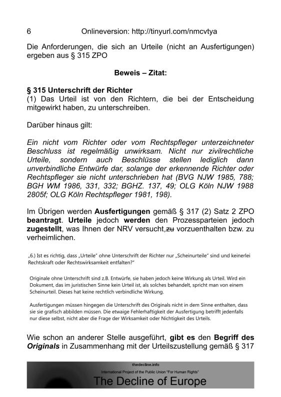 Scheinurteile und Scheinbeschlüsse - Neue Richtervereinigung _05
