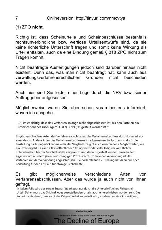 Scheinurteile und Scheinbeschlüsse - Neue Richtervereinigung _06