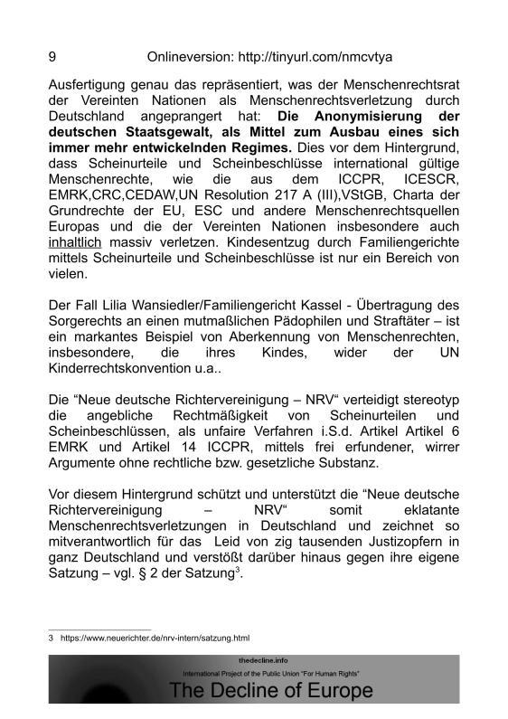 Scheinurteile und Scheinbeschlüsse - Neue Richtervereinigung _08