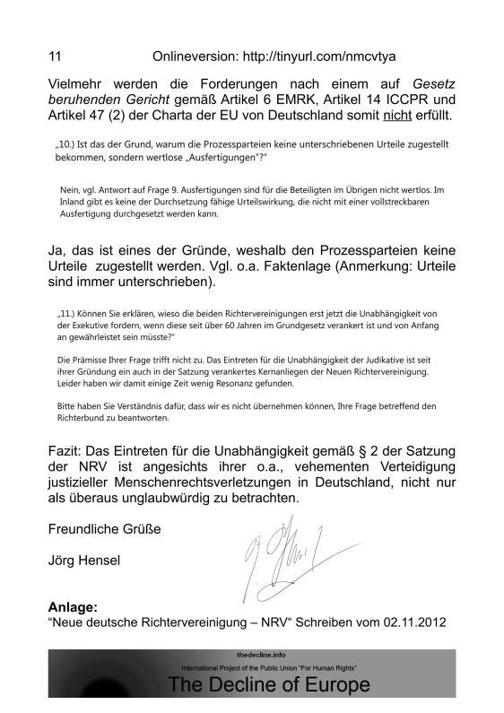 Scheinurteile und Scheinbeschlüsse - Neue Richtervereinigung _10