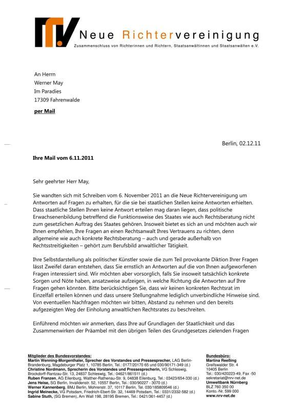 Scheinurteile und Scheinbeschlüsse - Neue Richtervereinigung _11