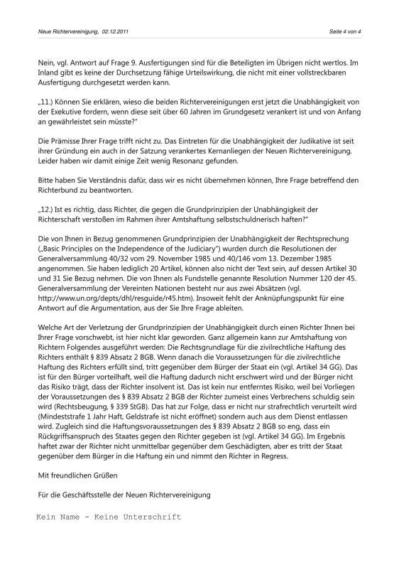 Scheinurteile und Scheinbeschlüsse - Neue Richtervereinigung _14