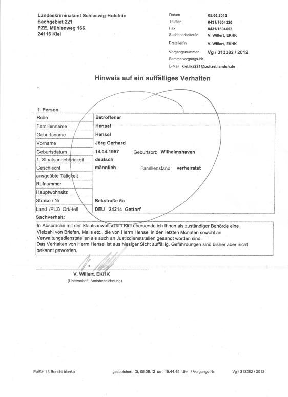 Angriff LKA Kiel