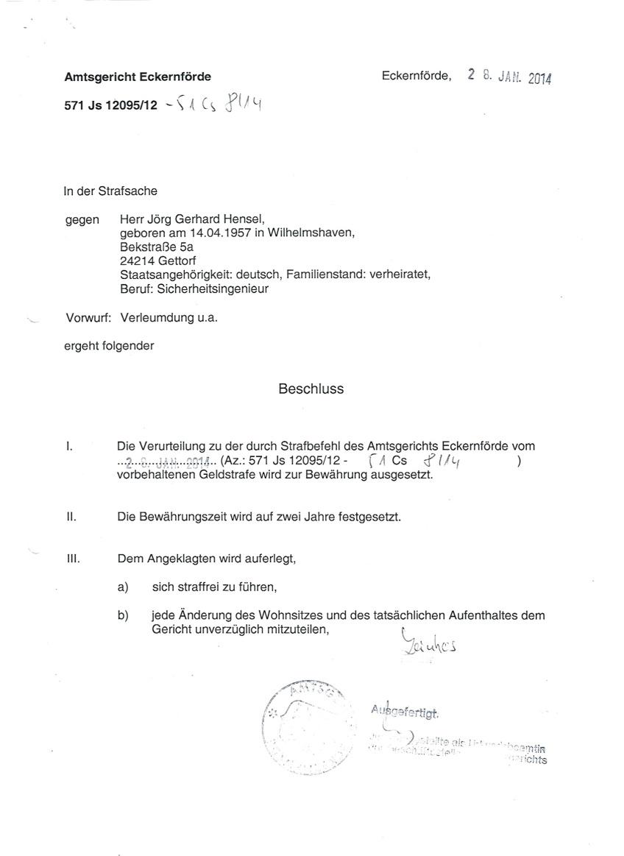 Strafbefehl AG Eckernförde04